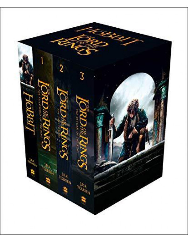 The Hobbit and The Lord of the Rings: Boxed Set (Box Set of Four Paperbacks) By Tolkien, J. R. R.