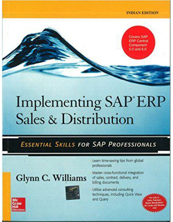 Implementing SAP ERP Sales & Distribution By Williams, Glynn
