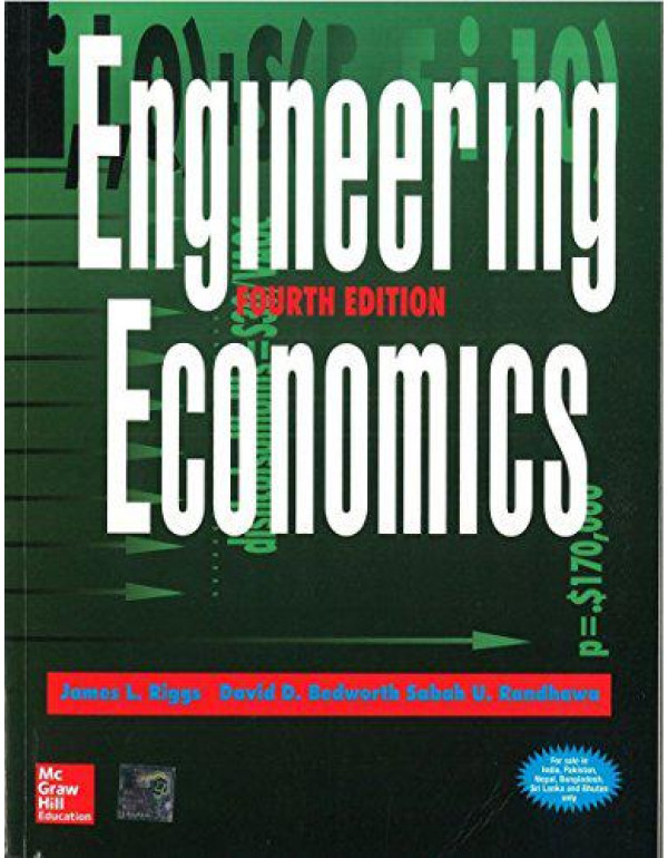 ENGINEERING ECONOMICS By Riggs, James