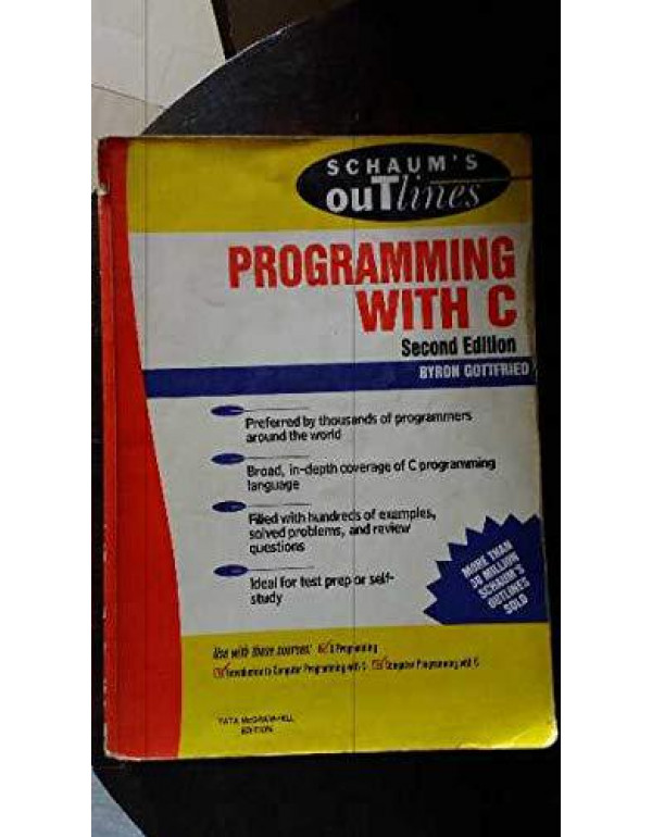 Programming With C By Byron Gottfried