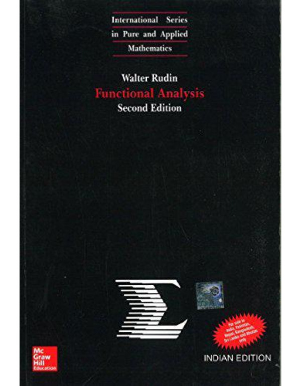 Functional Analysis By Rudin, Walter
