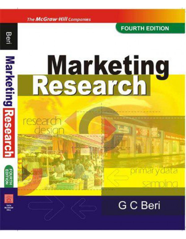 Marketing Research: Research Design By Beri, G C