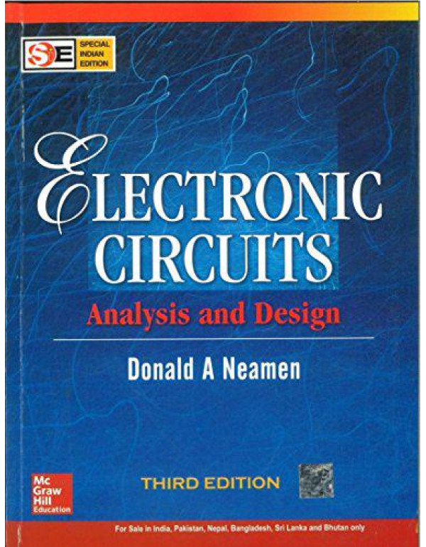 Electronic Circuits: Analysis and Design (SIE) | 3rd Edition By Neamen, Donald
