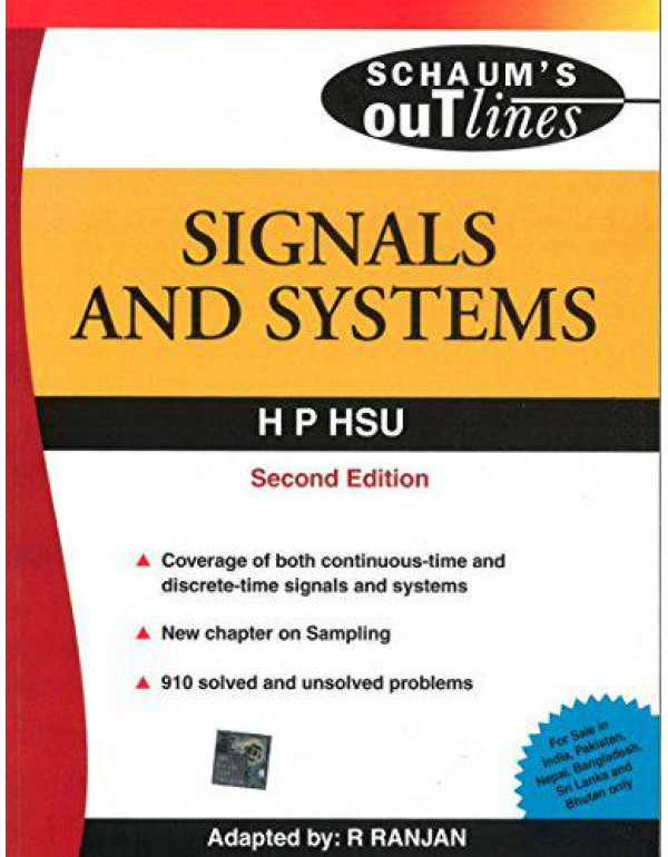 SIGNALS & SYSTEMS 2nd Edition By Hsu, H