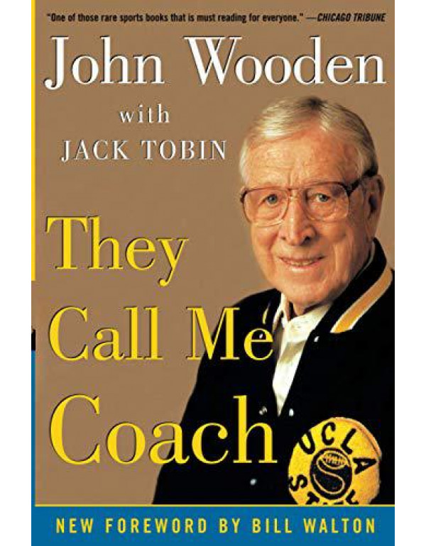 They Call Me Coach By Wooden, John