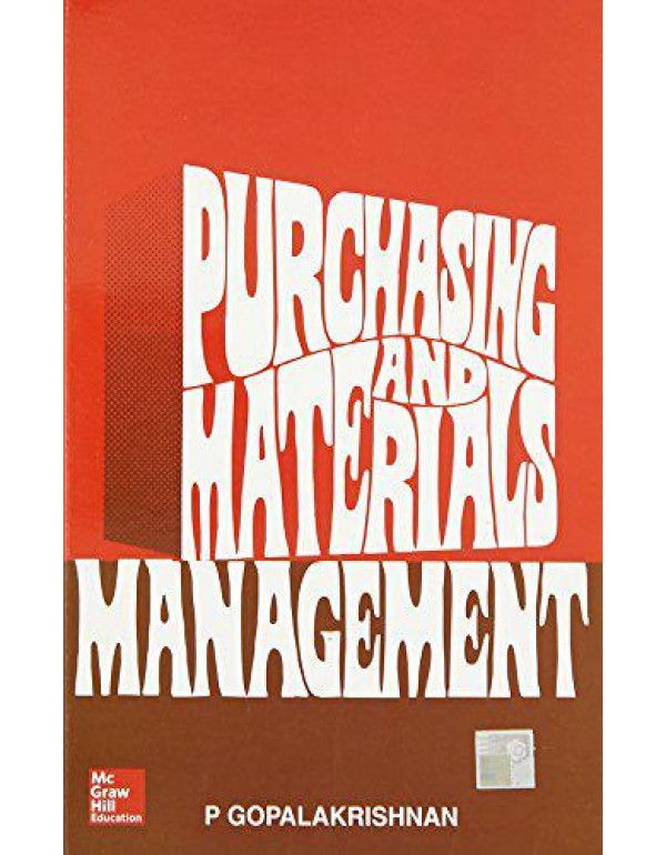 Purchasing and Materials Management By Gopalakrishnan, P.