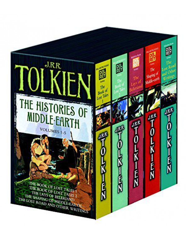 Histories of Middle Earth 5c box set MM By Tolkien, J.R.R.