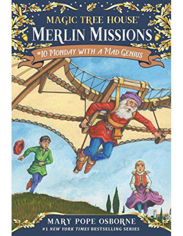 Magic Tree House #38: Monday with a Mad Genius (A Stepping Stone Book(TM)): 10 (Magic Tree House (R) Merlin Mission) By Osborne, Mary Pope