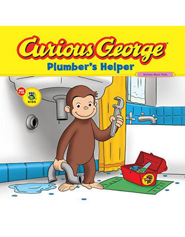 Curious George Plumber's Helper By Rey, H.A.