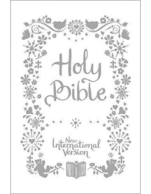 NIV Tiny White Christening Bible (New International Version) By International Version, New