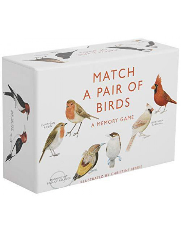 Match a Pair of Birds: A Memory Game By Berrie, Christine