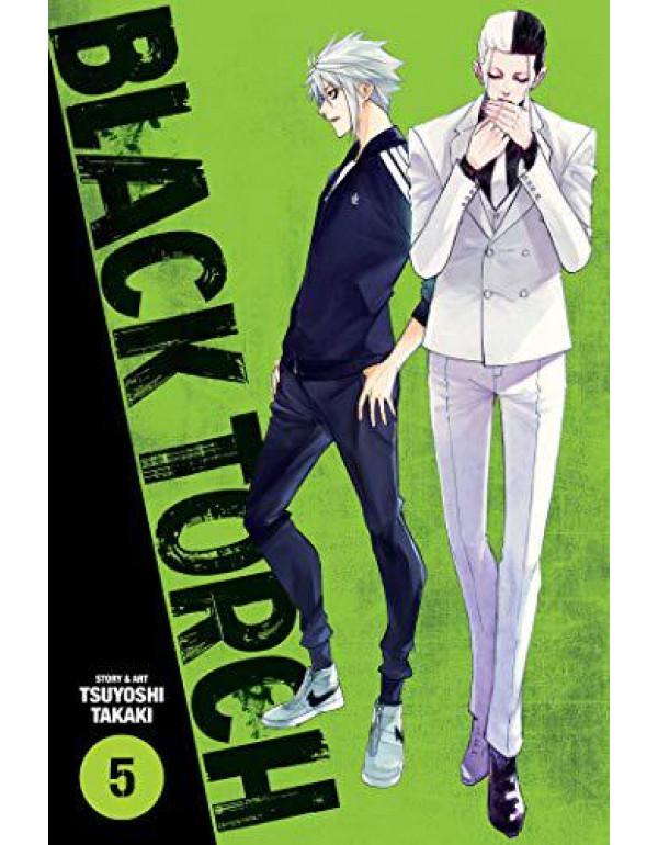 Black Torch, Vol. 5 (Volume 5) By Takaki, Tsuyoshi