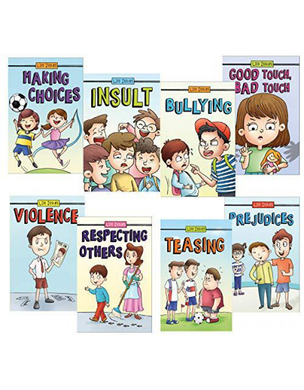 Set of 8 Serious Life Issues Books for 4+ Year Old Children By Team Pegasus