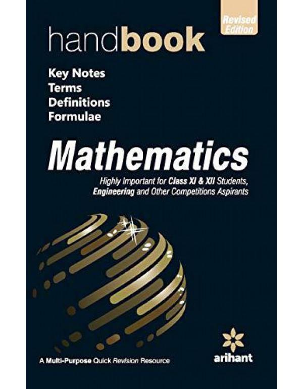 Handbook of Mathematics (Old edition) By Amit Rastogi