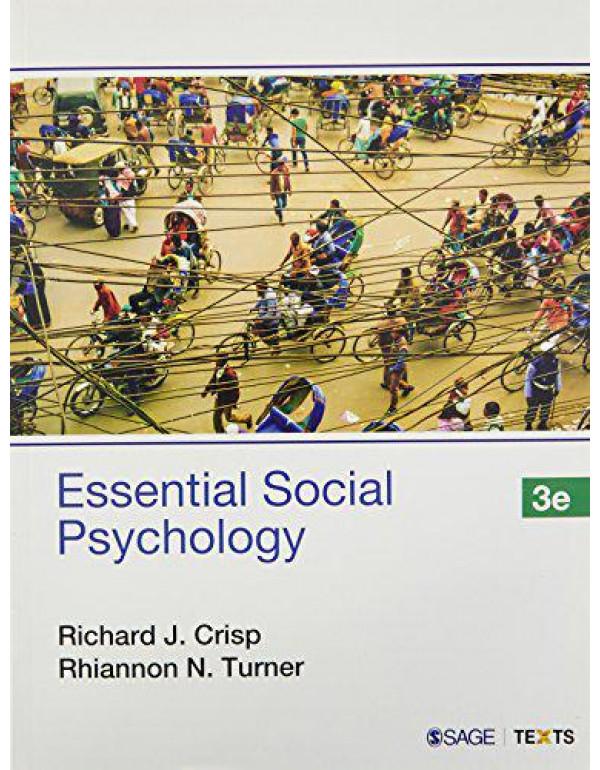 Essential Social Psychology (India) By Richard J. Crisp and Rhiannon N. Turner