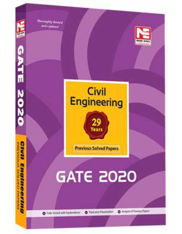 GATE 2020: Civil Engineering Previous Solved Papers By ME Editorial Board