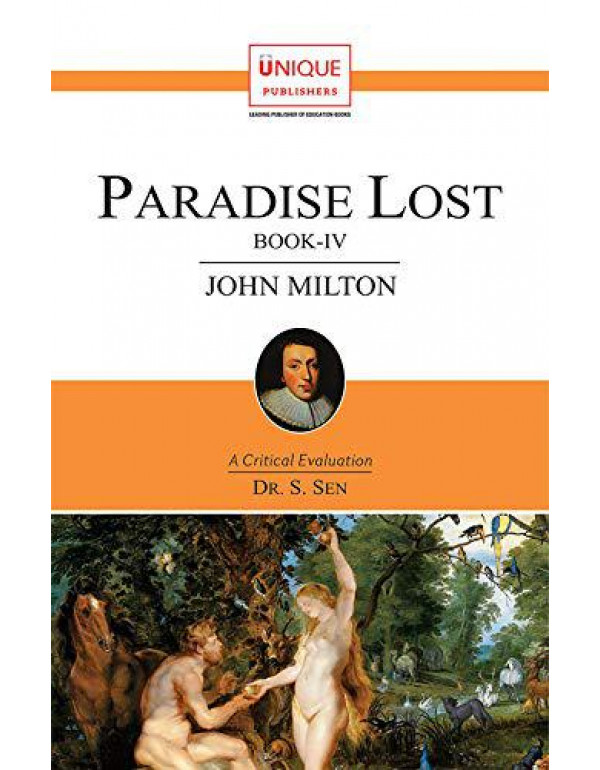 Paradise Lost Book-IV By S Sen