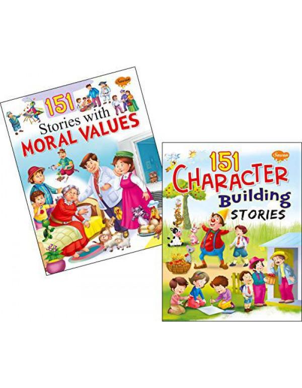 Sawan Set of 2 story books 151 series (Moral Values & Character Buliding) By Sawan