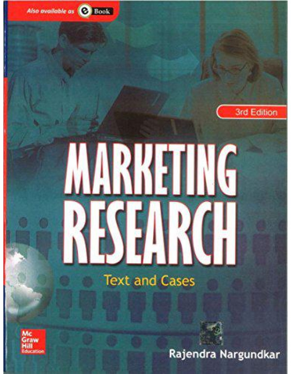 Marketing Research: Text and Cases By Nargundkar, Rajendra