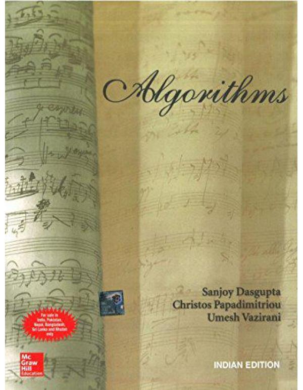 ALGORITHMS By Dasgupta, Sanjoy