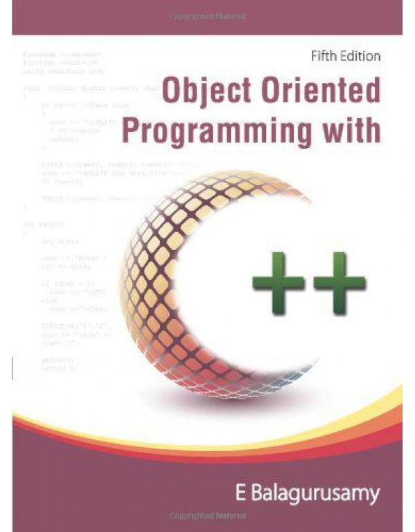 Object Oriented Programming in C++ By Balagurusamy, E