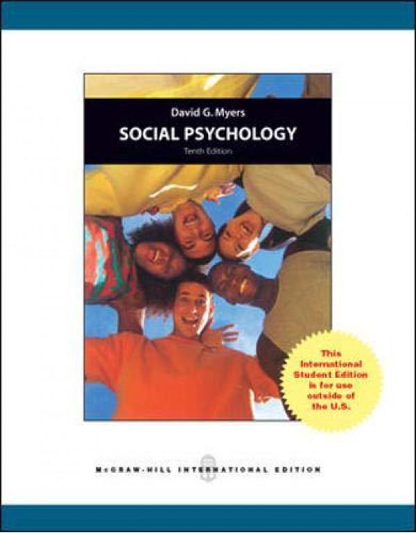Social Psychology By Myers, David