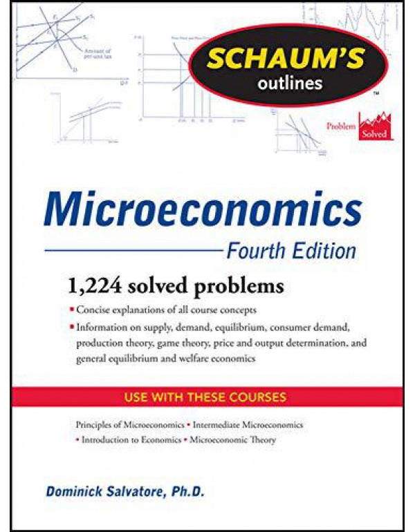 Schaum's Outline of Microeconomics, Fourth Edition (Schaum's Outlines) By Salvatore, Dominick