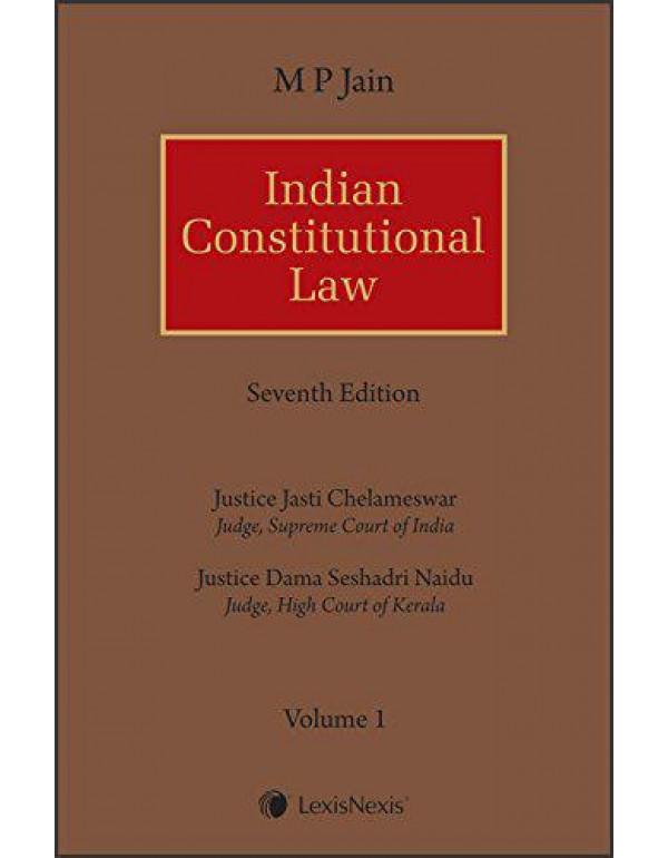 M P Jain Indian Constitutional Law (Set of 2 Volumes) By M P Jain