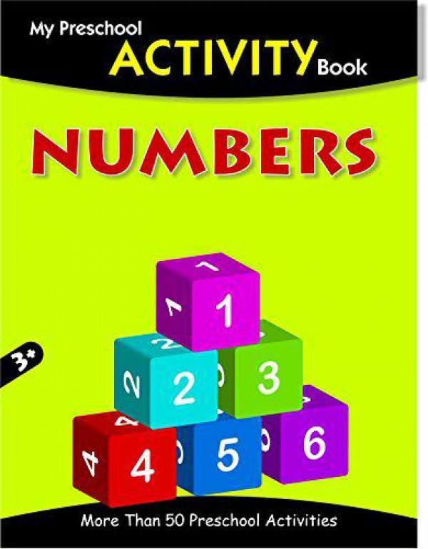Numbers - My Preschool Activity Book (My Preschool Activity Books) By Pegasus Team