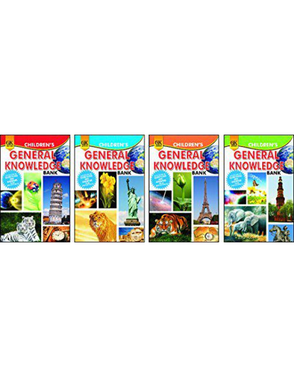 Childrens Knowledge Bank: Set of 4 Books By MG Editorial Board