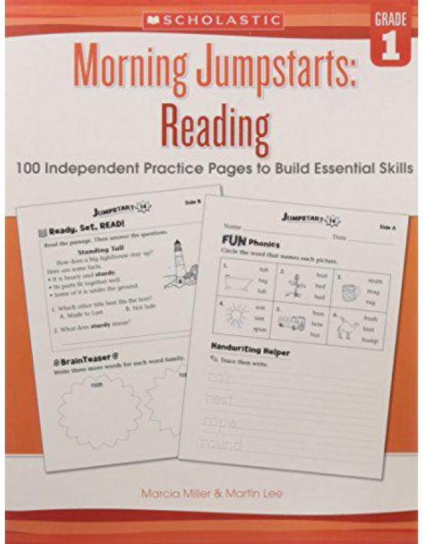 Morning Jumpstarts: Reading Grade 1 By Martin Lee