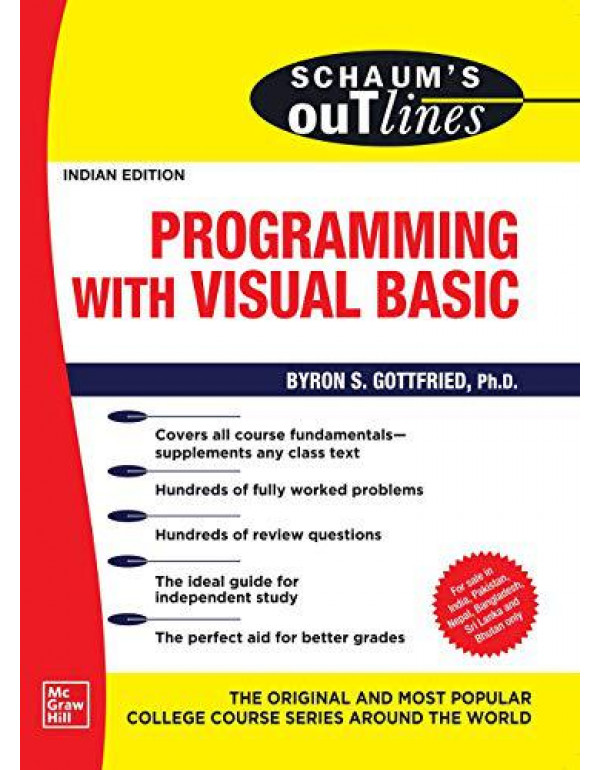 Schaum's Outline Of Programming with Visual Basic By Gottfried, Byron S.