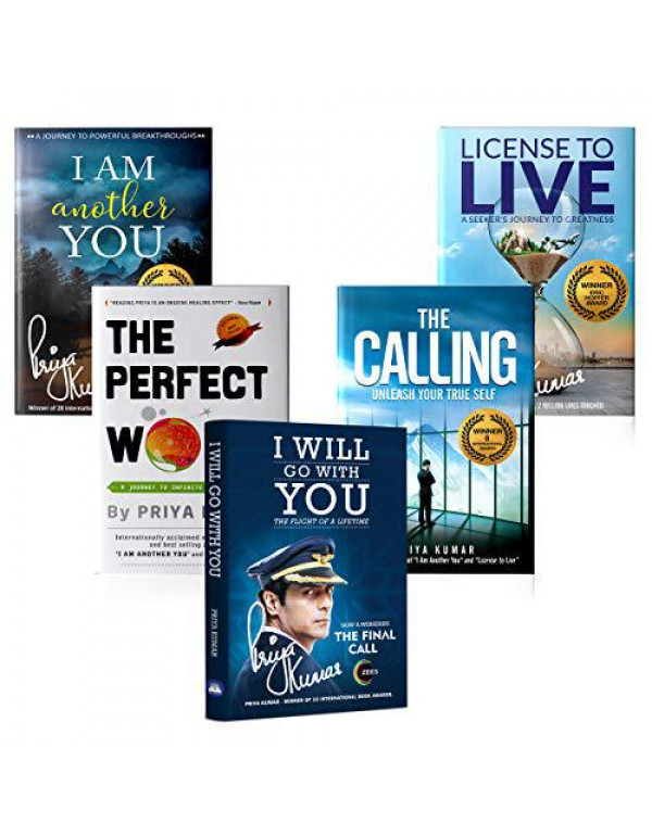 I Am Another You, License to Live, The Perfect World, I Will Go With You & The Calling ( Set of 5 books ) By Priya Kumar